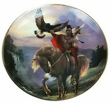 WESTERN HERITAGE MUSEUM PLATE SPIRIT OF THE EAST WIND Plate No. H K 9556