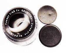 Carl Zeiss Jena 13.5cm f4.5 Tessar Leica 39mm Thread mount  #2418199