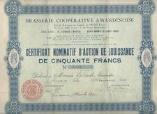 Brasserie Coopérative AMANDINOISE - Nord