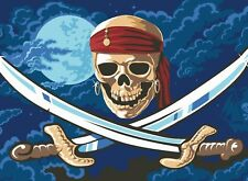 Pirates of the Caribbean Flag (skull) 5'x3′ Flag