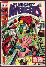 MARVEL _ THE AVENGERS _ # 66 _ FN _ 1969 _ 1ST MENTION OF ADAMANTIUM _