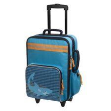 LÄSSIG Kindertrolley Koffer Reisetrolley NEU blau