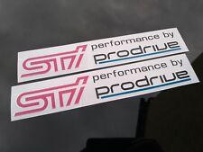 SUBARU STI PRODRIVE Stickers Decals UK SELLER 1st Class Postage