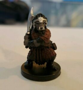 Orc Warrior D&D Miniature Dungeons & Dragons harbinger #75