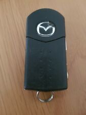 MAZDA 4 BUTTON REMOTE KEY FOB IN WORKING ORDER. MITSUBISHI (REF 403/7)