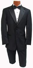 Men's Black Joseph Abboud Tuxedo with Pants Gangster Bond Halloween Costume 41R