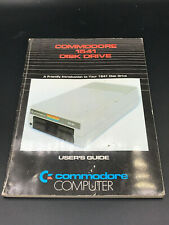 Commodore 1541 Disk Drive User's Guide / Instruction Manual