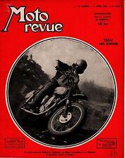 MOTO REVUE 1130 ESSAI 250 JONGHI 1953