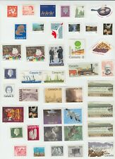Canada - Uncancelled, Off Paper, No gum Stamp Lot, Face Value $50.