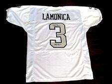 DARYLE LAMONICA #3 MAD BOMBER 2X AFL-MVP OAKLAND RAIDERS SIGNED AUTO JERSEY JSA