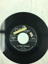 The Great Pretender/I'm Just A Dancing Partner by The Platters 45 RPM
