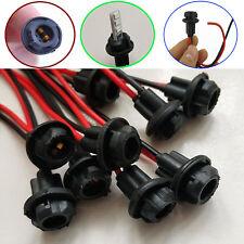 Impermeable T10 W5W coche arnés de los indicadores de luz LED SMD Socket titular Conector