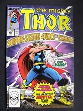 the mighty Thor 400 marvel.