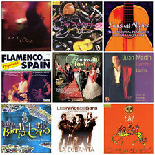 9 FLAMENCO/NUEVO FLAMENCO CDs wholesale lot NEW Spain/Spanish guitar/gypsy music