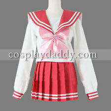 Lucky Star Konata Izumi Cosplay Costume girl School Uniform