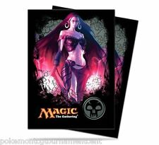 80 Ultra Pro Deck Protector Card Sleeves Liliana Black mana for MTG cards