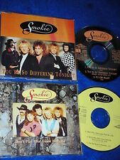 lot 2 CD maxi SMOKIE Don't Play That Game With Me & YOU'RE SO DIFFERENT TONIGHT