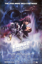 Star Wars - Empire Strikes Back - A3 Film Poster - FREE UK P&P