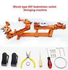 Winch type Personal DIY badminton Tennis racket stringing Threading machine 60LB