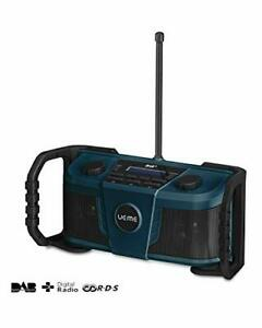 UEME Rugged Job/Construction Site DAB FM Stereo Bluetooth Radio, Wifi Streaming