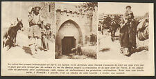 SYRIE SYRIA IMAGE PRINT BIRECIK BIREDJIK 1919