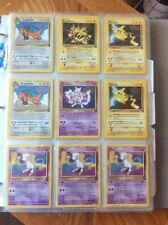 """Kids WB Presents """"Pokemon The First Movie"""" Card Set"""