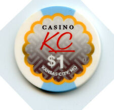 1.00 Casino Chip from the Casino Kc Kansas City Missouri