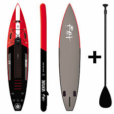 Tiki 12ft 6 Inflatable SUP + 3 Pce Paddle + Pack Venture Stand Up Paddle Board