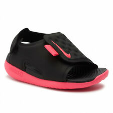 Nike Sunray Adjust 5 (Td) Aj9077 002 black/pink Toddler Shoes Free Shipping