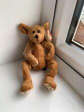 Ty Attic Treasures Beanie Babies Toy Carson The Teddy Bear 1993 Retired