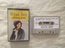 Miguel Bosè - Chicas! - Musicassetta