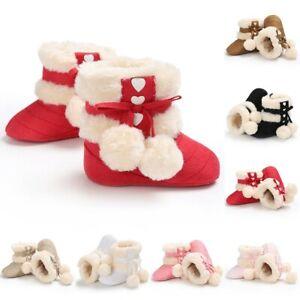 Winter Baby Mädchen 0-1 Jahre Alt Babymode Warme Süße Schuhe Kleinkinderschuhe