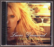 LUCIE DIAMOND - I WANNA BE RICH... - 12 TRACK CD - NEW & SEALED