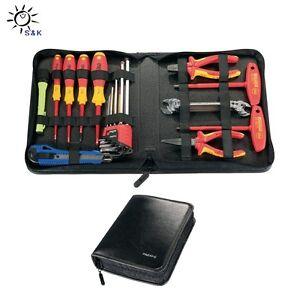 PARAT Werkzeugmappe / Werkzeugtasche B.480xT.20xH.255mm aus Industrieleder
