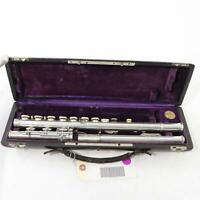 Early 20th Century Couesnon Handmade French Flute EXQUISITE