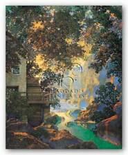 Old Oak Glen Maxfield Parrish Landscape Art Print 18x24