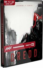 Dredd: Best Buy MONDO X Exclusive SteelBook #005 [Blu-ray 3D + 2D + DVD] NEW