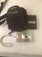 SONY CYBER-SHOT(DSC W10) Digital Camera(MPEGMOVIE VX)case/Charger/Battery-Works!