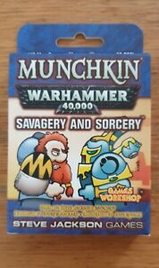 Munchkin Warhammer 40,000 Savagery And Sorcery Expansion Deck