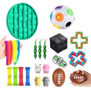 Fidget Toys Set 22Pcs Sensory Tools Bundle Stress Relief Hand Toys Kids Adults