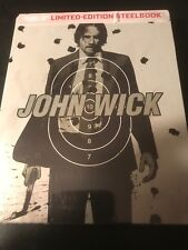 John Wick (BLU-RAY + DVD) Edición Limitada Steelbook Nuevo