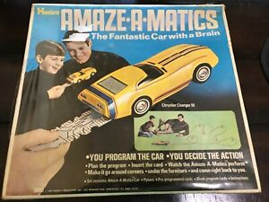 VINTAGE HASBRO AMAZE-A-MATICS CHRYSLER CHARGER III #5860 COMPLETE *NEW sealed*