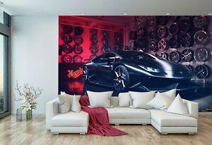Super Sports Car Fast Car Wallpaper Mural Photo Kids Poster DIY Decoration