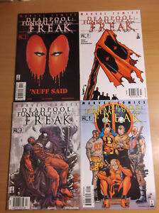 MARVEL: DEADPOOL, FUNERAL FOR A FREAK,  #61-64, COMPLETE STORYLINE, 2002, NM!!!