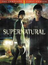 Supernatural: The Complete First Season ~ 6-Disc DVD WS Set ~ FREE Shipping USA
