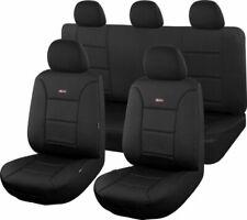 Sharkskin Seat Covers for Toyota Landcruiser 200 Series 11/2007 - Black