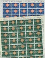 S23556) Italy 1960 MNH New Europa 2v Sheets Whole Folded
