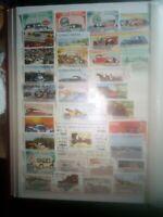 Formel 1 Rennwagen Oldtimer Coche Autos Stamps Briefmarken Sellos Timbres