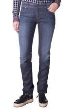 ARMANI JEANS Blue Jeans Size 28 Faded Worn Look Medium Waist Slim Fit RRP €225