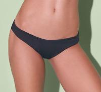 ONIA Black 'Lily' Sporty Bikini Bottoms, Women's Size M 59619